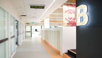 Interior of the new RMH ICU